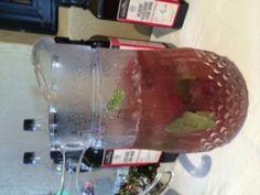 Raspberry Mojito Iced Tea