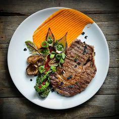 Beef, Carrots, Mushrooms, Mangold, Onion, Cucumber Salt