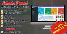 Admin Panel for mobile apps - APIs, User Management, Geolocalization, Analytics & Push Notifications . Admin Panel is the most powerful management tool to boost your mobile app! It allows you to keep an eye on your users, their behaviour and their messages! Look what they post and how they interact with each other and take care of the users that don't behave properly!
