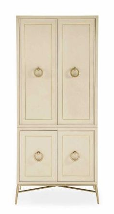 Door Cabinet Deck and Base | Bernhardt W:  37-7/8 D:  20-1/2 H:  84