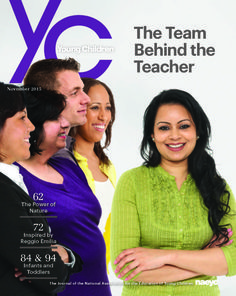 Inspired by Reggio Emilia: Emergent Curriculum in Relationship-Driven Learning Environments | National Association for the Education of Young Children | NAEYC YC | Young Children Journal