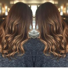 Subtle honey hints. Color by @beautybyjonathan  #hair #hairenvy #haircolor…