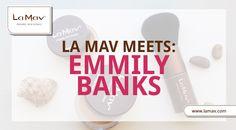 La Mav Meets: Emmily Banks (professional makeup artist+avid green beauty supporter+mermaid)