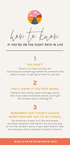 How To Know If You're On The Right Path. Check in with ur body and mind for what they have to say and match with healthy life recipe. Feeling Lost, How Are You Feeling, When You Feel Lost, Lost In Life, Quarter Life Crisis, Career Inspiration, Design Your Life, Self Awareness, Self Discovery
