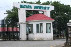 Hazara University (HU), Mansehra, Date Sheet, BA BSc Part I,& Part II Annual Exam 2014