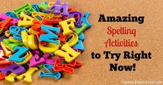 These hands-on spelling activities are a fun way to practice spelling words. Boost spelling ability while having fun playing. Spelling Games For Kids, All About Spelling, Spelling Activities, Sight Word Activities, Spelling Words, Teaching Sight Words, Sight Words List, Teaching Letters, Sight Word Coloring