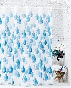 236-Rain Interiors Online, Interior Decorating, Interior Design, Curtains, Prints, Rain, Products, Shower Curtains, Home
