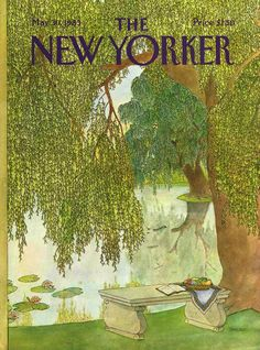 The New Yorker - Monday, May 30, 1983 - Issue # 3041 - Vol. 59 - N° 15 - Cover by : Jenni Oliver