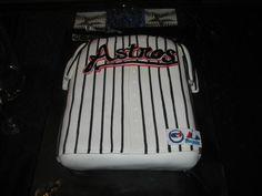 Rick Solberg's grooms cake, from Sugar Land, Texas.  Go Houston Astros!!!