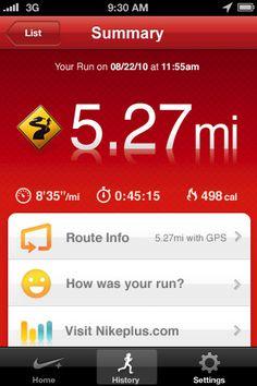 3. 9/16/11 Nike GPS+