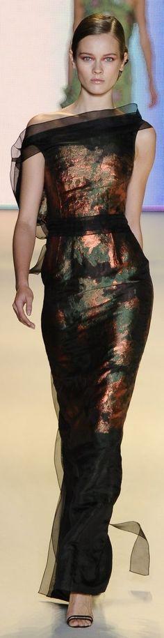 Carolina Herrera...love that fabric