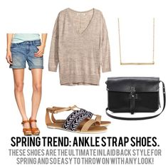 jillgg's good life (for less) | a style blog: spring trends 2014: ankle strap shoes!