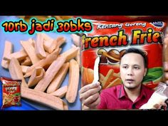 ide bisnis keren nih cuma 10rb jadi 30 bungkus - YouTube Snack Recipes, Snacks, 30th, Fries, Projects To Try, Business Ideas, Youtube, Food, Snack Mix Recipes
