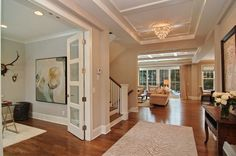 floor plan traditional entry by Great Neighborhood Homes