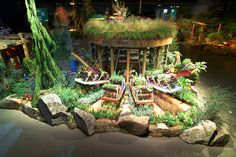 Display Garden By Seattle Tilth At The Northwest Flower U0026 Garden Show