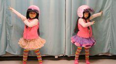 左左右右 Zony&Yony (twins, 5 years old) in Taiwan - Crayon Pop - Bar Bar Bar