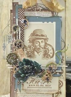 Steampunk Tag - Cathrine Sandvik - Stempelglede :: Design Team Blog