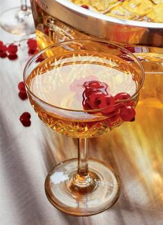 Up the spirit of your Christmas party with The Dandy. This cocktail, from Hawksmoor at Home excludes 1920's sophistication. Serve with seasonal berries for a truly festive touch.
