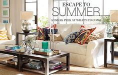 Summer Preview   Pottery Barn