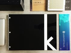 11x14 portfolio book - Matte Black portfolio with custom color fill engraving and White hinges.  www.sleekportfolios.com Portfolio Book, Matte Black, Adhesive, Fill, Color, Colour, Colors