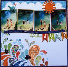 1, 2, 3...JUMP - Scrapbook.com