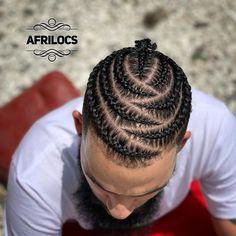 Braid Hairstyles For Men Styles) Braid Hairstyles For Men Styles) <br> Check out these braid styles for men including cornrows, box braids, zig zag braids, 2 braids and braided dreadlocks. Braided Hairstyles For Black Women Cornrows, Braided Ponytail Hairstyles, Hairstyles Men, African Men Hairstyles, Glasses Hairstyles, Braided Man Bun, Bun Braid, Mohawk Braid, Medium Hairstyles