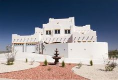 Hauser Residence, Carlsbad, NM. This traditional Spanish Colonial style home has over 11,000 s.f. of conditioned space and rooftop terraces on two levels.