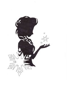 Disney Frozen Anna and Elsa Silhouette Images - - Yahoo Image Search Results Frozen Silhouette, Disney Silhouette Art, Princess Silhouette, Disney Silhouettes, Cartoon Silhouette, Fairy Silhouette, Silhouette Images, Frozen Disney, Disney Crafts