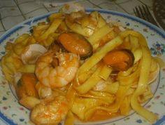 Espaguettis/Pasta a la marinera