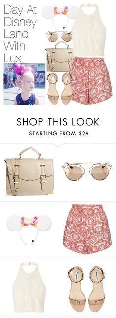 """""""Disney Land with Lux"""" by onedirectionimagineoutfits99 ❤ liked on Polyvore featuring ASOS, Christian Dior, Disney and Motel"""