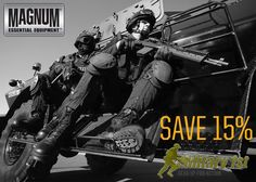 15% Off Magnum Products at Military1st