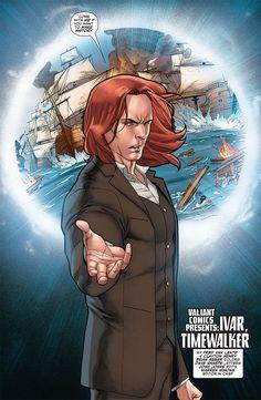 8-Page Preview: VALIANT NEXT Presents IVAR, TIMEWALKER #1, https://all-comic.com/2014/8-page-preview-valiant-next-presents-ivar-timewalker-1/