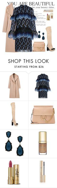 """""""I just feel like this now: beautiful"""" by tina-pencinger ❤ liked on Polyvore featuring Erdem, Casadei, Chloé, Kenneth Jay Lane and Dolce&Gabbana"""