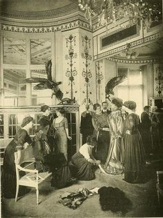 Les Createurs de La Mode 1910 - 21 - Salon de Vente - Chez Bechoff-David
