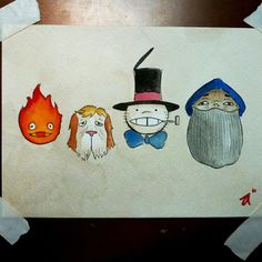 *GASP* it's Calcifer and Heen and Turnip Head and Markyl!