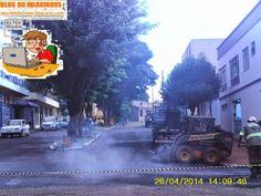 BLOG DO MARKINHOS: Prefeitura Manoel Ribas inicia recape na Rua 08 de...