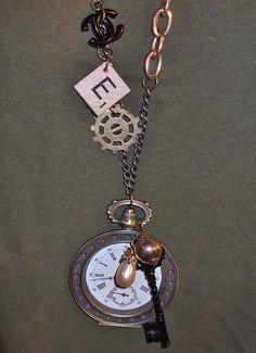 Dear Alice- steampunk Jewelry