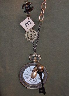 Dear Alice- steampunk Jewelry