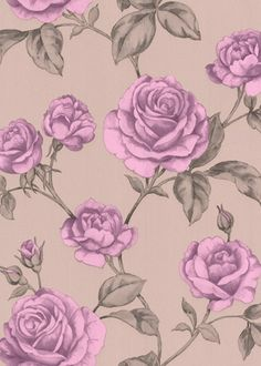 Countess Lavender Wallpaper