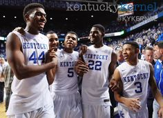 Kentucky defeats Texas 63-51. Photo by @emilywuetch