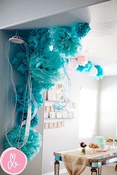 Birthday Party Decoration Ideas - Mermaid Party by Elaine V