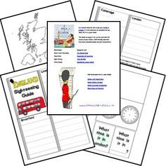 For my London obsessed daughter, Emily - England Country Study Lapbook Teaching Geography, World Geography, English Lessons, Learn English, Always Learning, Thinking Day, Lap Books, Project Based Learning, Home Schooling