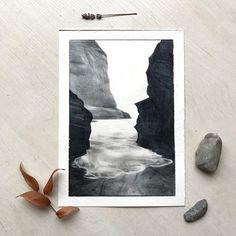 "Alexandra Shevchenko on Instagram: ""Все ещё хочу на море..."" Pencil, Frame, Painting, Home Decor, Picture Frame, Decoration Home, Room Decor, Painting Art, Paintings"