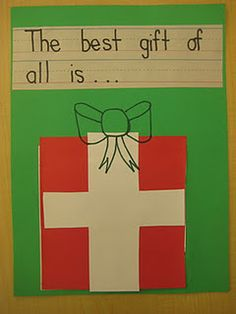 Best Christmas Present of All and kids write about what they think the best gift of all is (cannot be store bought).