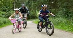 Bikes in all shapes and sizes and for children young and old.