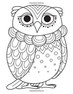 Blank Book Journal: Owl Zentangle Cover Diary Notebook: x 11 size 120 gray lined pages! Color The Cover! (Color the Cover Journals ~ Owl) (Volume Blank Coloring Pages, Spring Coloring Pages, Coloring Books, Zentangle Drawings, Blank Book, Owl Art, Book Journal, Diary Notebook, Easy Drawings