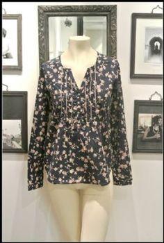 Noa Noa Joline Shirt 1-4613-1 in Ink