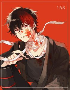 Dark Anime Guys, Anime Love, Yandere Boy, Character Art, Character Design, Evil Anime, Handsome Anime Guys, Manga Boy, Boy Art