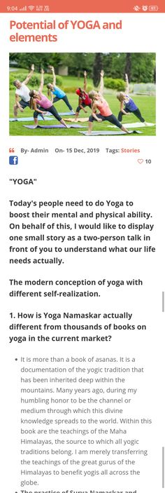 Here, I am explaining all the positive things about YOGA and their attractive points.