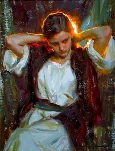 As Cores Da Arte: Michael Malm Figure Painting, Painting & Drawing, Painting Abstract, Acrylic Paintings, Abstract Landscape, Art Du Monde, Classical Art, Malm, Fine Art